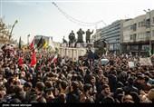 تشییع میلیونی پیکر مطهر سپهبد شهید قاسم سلیمانی و شهدای مقاومت در تهران