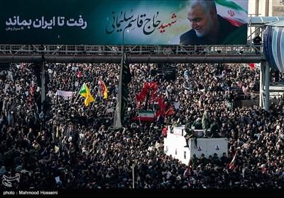 تشییع پیکر سپهبد قاسم سلیمانی و شهدای مقاومت در تهران - 8