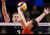 والیبال انتخابی المپیک| پیروزی آلمان در برلین + تصاویر