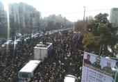 اقتدای مردم شهرری به شهیدان زمانینیا و میرزایی / جوانان راه شهدای مقاومت را ادامه میدهند+ فیلم