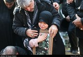وداع جانسوز دختر خردسال شهید طارمی با پدر+عکس و فیلم