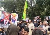 تظاهرات مسلمانان هند در اعتراض به ترور سردار سلیمانی +فیلم