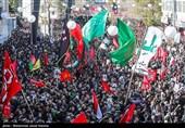 اهتزاز بیرقهای سرخ خونخواهی در خرمشهر / جوانان خوزستانی خواستار انتقام از قاتلان سرداران مقاومت شدند