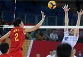 والیبال قهرمانی آسیا| چین، بازی برده را باخت/ ردهبندی کامل مرحله نخست