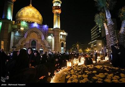 شام غریبان حاج قاسم سلیمانی در میدان فلسطین تهران+ عکس