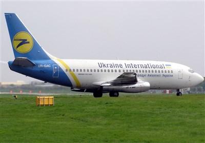 اولین فیلم از لحظه آتش گرفتن و سقوط هواپیمای اوکراینی