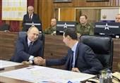تأکید پوتین بر اقدامات مشترک و موثر روسیه-سوریه در مبارزه با تروریستها+ تصاویر