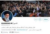 توئیتر صفحه آیتالله خامنهای را مسدود کرد
