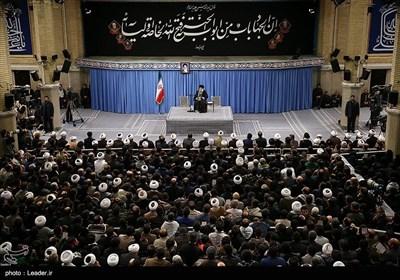 گریههای مردم در واکنش به فرمایشات رهبر انقلاب درباره شهید سلیمانی