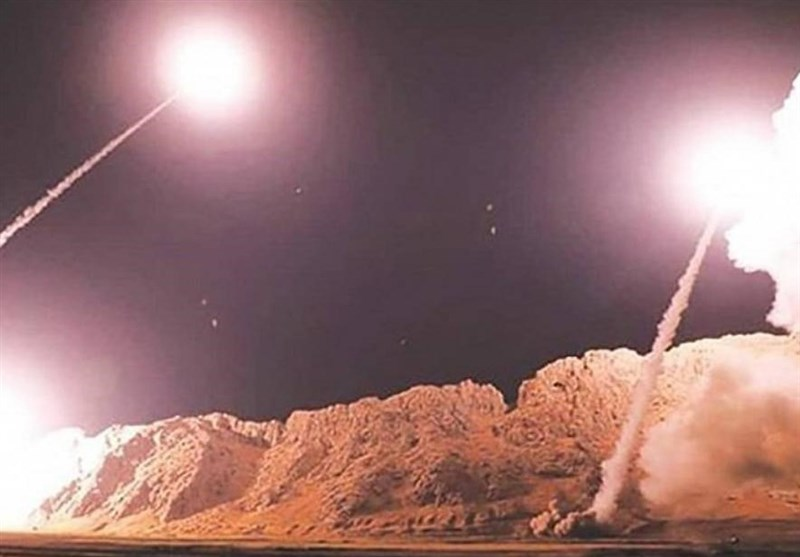 اصابت موشکهای ایرانی به چشم هوایی آمریکا در عین الاسد