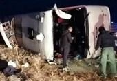 ایران؛ مسافر بس حادثے کا شکار، متعدد مسافرجاں بحق
