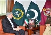 ایرانی سفیرکی پاکستانی فوج کے سربراہ سے ملاقات
