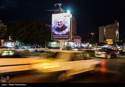 تجمع اعلام حمایت از سپاه پاسداران - اهواز