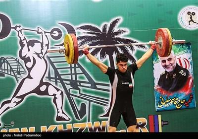 رقابتهای وزنهبرداری قهرمانی بزرگسالان کشور گرامیداشت سپهبد شهید قاسم سلیمانی- اهواز