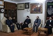 حضور حکیم در منزل سپهبد شهید حاج قاسم سلیمانی+ تصاویر