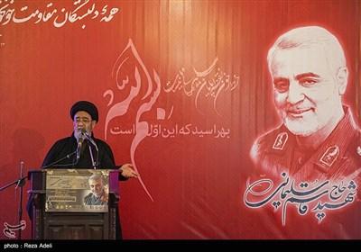 سخنرانی حجتالاسلام والمسلمین سیدمحمدعلی آلهاشم در گرامیداشت یاد و خاطره شهید سپهبد سلیمانی
