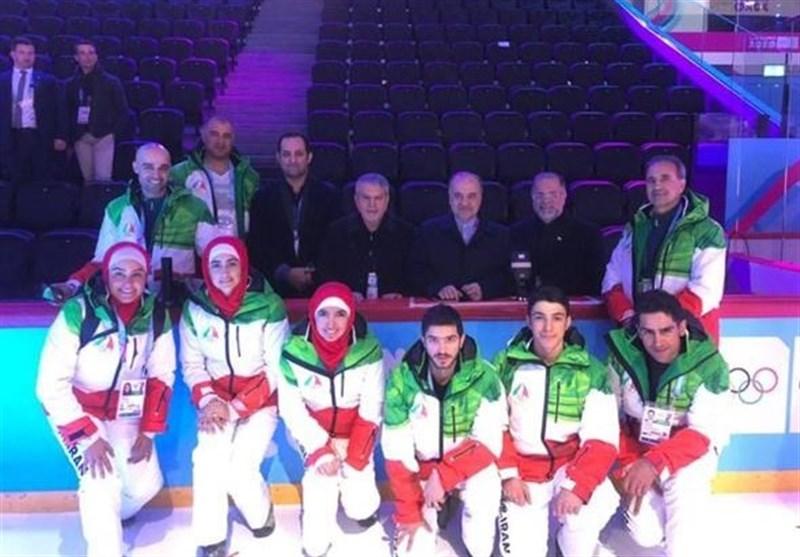 المپیک زمستانی جوانان  حضور سلطانیفر و صالحی امیری در افتتاحیه و دیدار با اعضای کاروان ایران