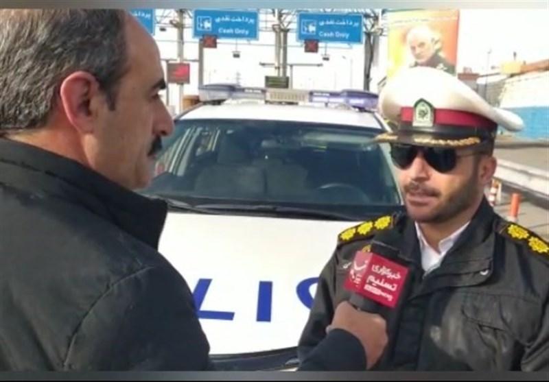 محدودیت ترافیکی در شرق استان تهران / جاده هراز یکطرفه میشود+ فیلم