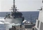 روسیه نزدیک شدن خطرناک کشتی خود به ناوشکن آمریکایی را رد کرد