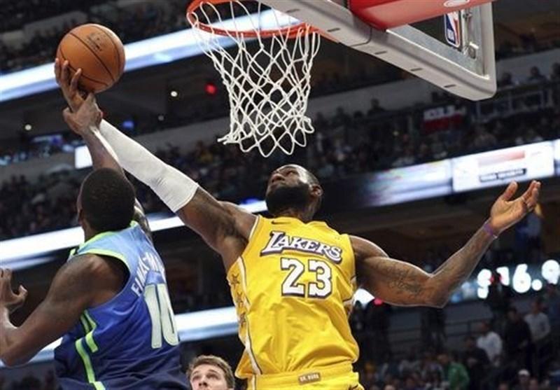لیگ NBA| اسپانسر جدید لیکرز/ ۱۰۰میلیون دلار برای ۱۶ سانتیمترمربع! + عکس