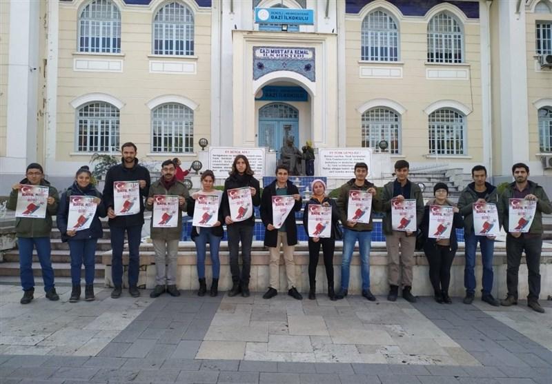 اتحادیه جوانان ترکیه خواستار اخراج نیروهای آمریکایی از غرب آسیا شد