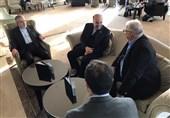 دیدار سلطانیفر و صالحیامیری با رئیس اتحادیه جهانی کشتی