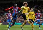 لیگ برتر انگلیس| آرسنال 10 نفره به کریستال پالاس امتیاز داد