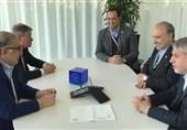 دیدار سلطانیفر و صالحی امیری با رئیس فدراسیون جهانی شمشیربازی