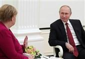 """توافق آلمان-آمریکا درباره خط لوله """"جریان شمالی-2"""" موضوع مذاکرات تلفنی مرکل و پوتین"""