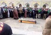 علامہ محمد ابراهیم محسنی آہوں اور سسکیوں کے ساتھ سپرد خاک