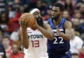 لیگ NBA  هاردن 20 هزار امتیازی شد