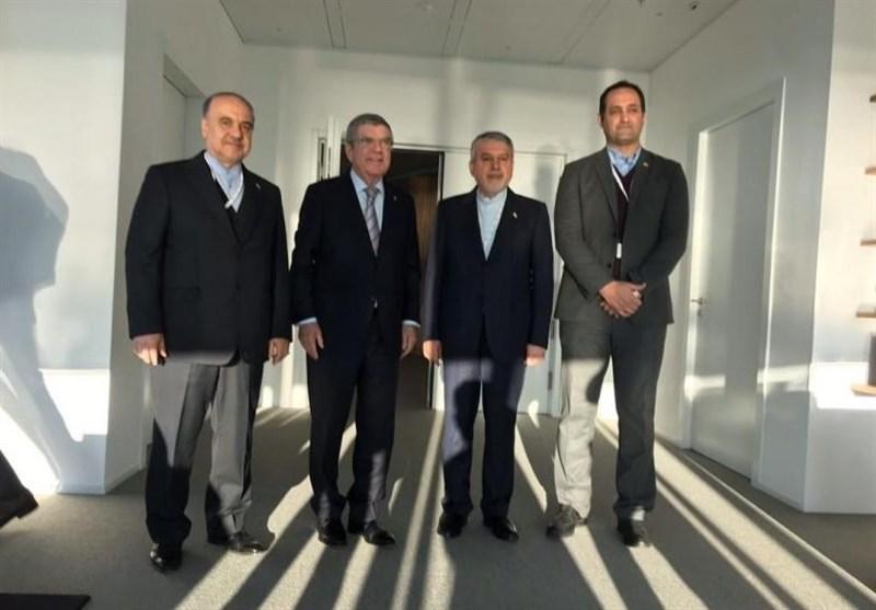 دیدار سلطانیفر و صالحی امیری با رئیس کمیته بینالمللی المپیک/ باخ: از ورزش ایران حمایت میکنیم