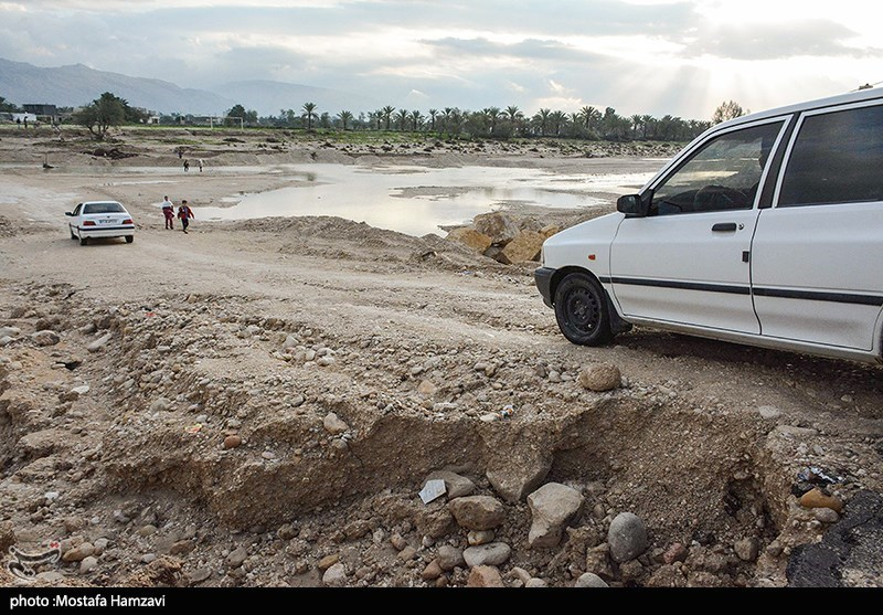 سیل در پارسیان - هرمزگان