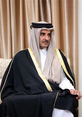 دیدار امیر قطر با رهبر معظم انقلاب