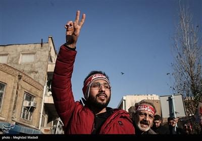 تجمع و راهپیمایی مردمی در محکومیت اقدام سفیر انگلیس