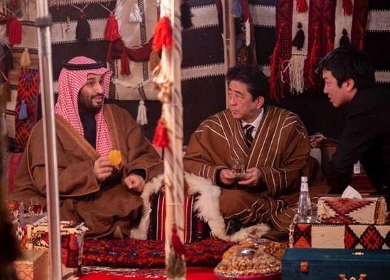 کشور ژاپن , عربستان سعودی , محمد بن سلمان ,