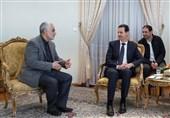 اعطای بالاترین نشان افتخار سوریه به سپهبد سلیمانی از سوی بشار اسد