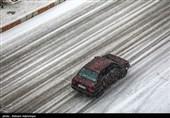 تداوم بارش برف و باران در جادههای 10 استان