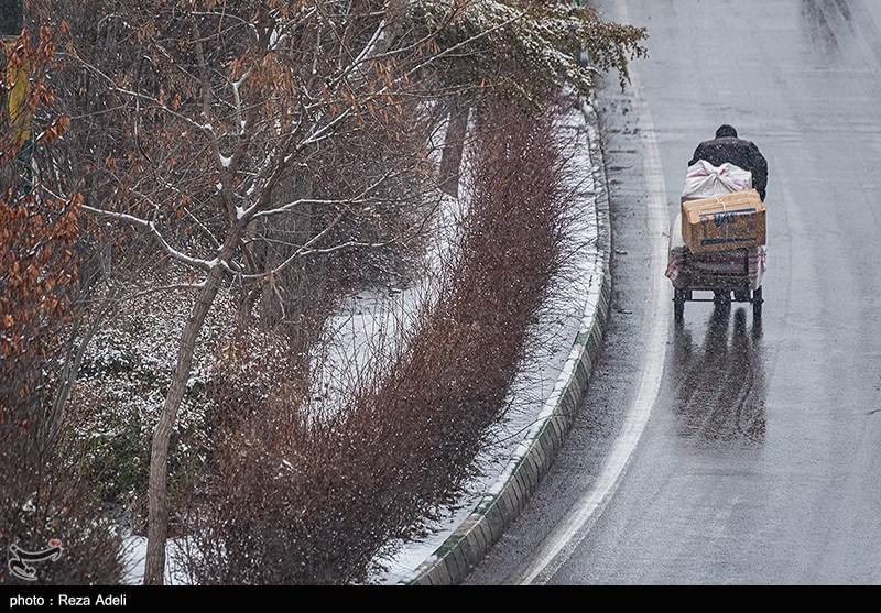 هواشناسی ایران 98/10/24 بارش برف و باران 3 روزه در برخی استانها/شنبه سامانه بارشی وارد کشور میشود
