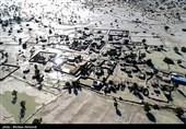 گزارش خبرنگار تسنیم از مناطق سیلزده بلوچستان| جنوب سیستان و بلوچستان غرق در آب شد / روند کند امدادرسانی صدای مردم را درآورد + فیلم