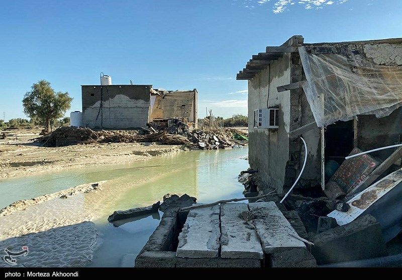 خسارات سیل در سیستان و بلوچستان