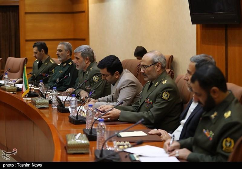 مذاکرات وزرای دفاع ایران و سوریه
