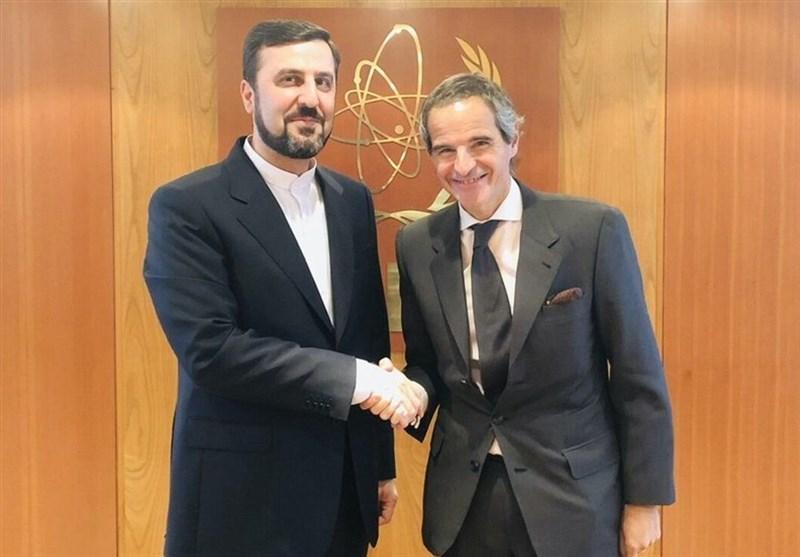 Iranian Envoy, IAEA Chief Discuss JCPOA