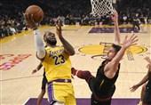 فینال لیگ NBA| پیروزی لیکرز در بازی چهارم/ یاران جیمز در یک قدمی قهرمانی