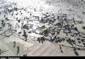 وضعیت بحرانی 35 روستا در بخش گافر و پارامون بشاگرد/نیاز شدید به امدادرسانی هوایی + فیلم