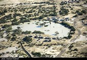 امدادرسانی مداوم بالگردهای هوادریای ارتش در مناطق سیل زده بلوچستان