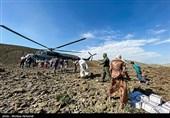 راه ارتباطی روستاهای بشاگرد همچنان قطع است/ارسال آذوقه با بالگرد در حال انجام است