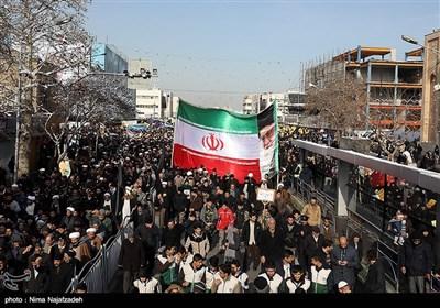 راهپیمایی مردم مشهد در حمایت از سرداران مقاومت