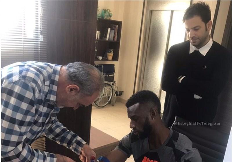 Australian Forward Bernie Ibini Fails Esteghlal Medical