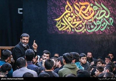 سخنرانی حاج حسین یکتا در مراسم گرامیداشت جانباختگان سانحه هوایی